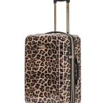 TOSCA Leopard Print Luggage