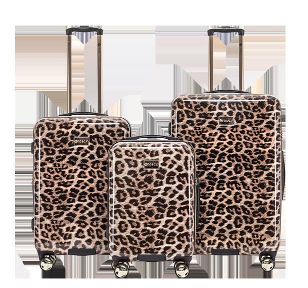 Leopard Print Luggage