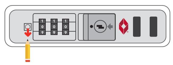 Setting TSA Lock
