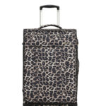 leopard soft case luggage