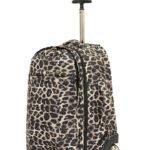 Leopard Trolley Backpack